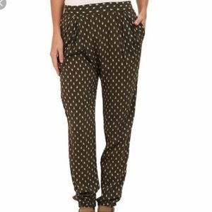 Free People Olive green joggers
